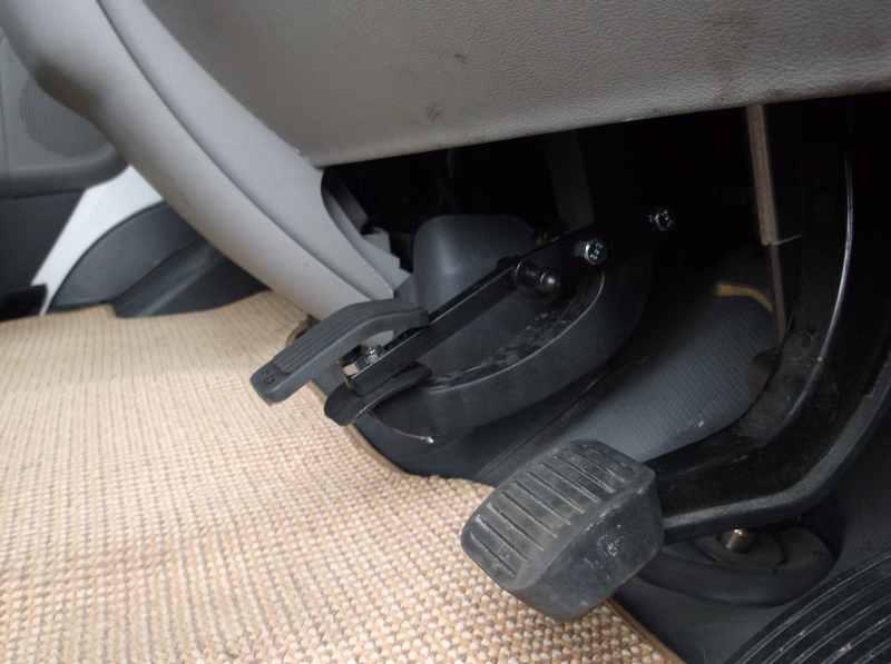 Clutch and brake pedal extension kits available. Vehicle specific, call for details.