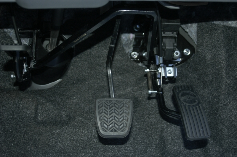 Brig-Ayd twin flip pedal transfer kits can be fitted to most makes and models of automatic vehicles. Call us for details
